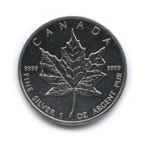 5 долларов — Кленовый лист 1989 года (Канада)