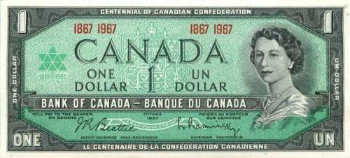 1 доллар 1967 года (Канада)