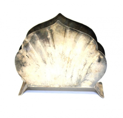 Салфетница (8×10 см, посеребрение)