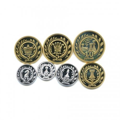 Набор монетовидных жетонов, Калмыкия
