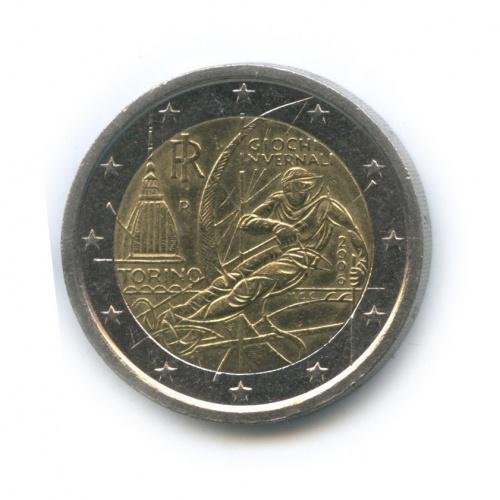 2 евро — XXзимние Олимпийские Игры, Турин 2006 2006 года (Италия)