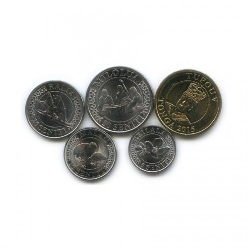 Набор монет (Тонга) 2015 года
