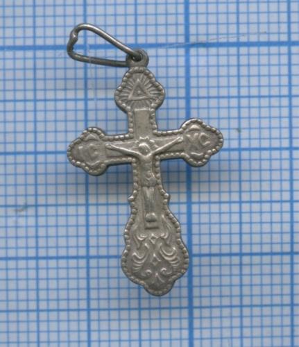 Крестик нательный (серебро 925 пробы)