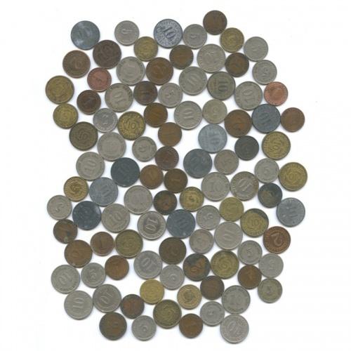 Набор монет (100 шт.) (Германия)