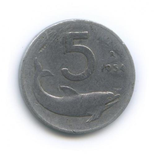5 лир 1954 года (Италия)