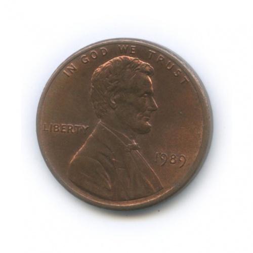 1 цент 1989 года (США)