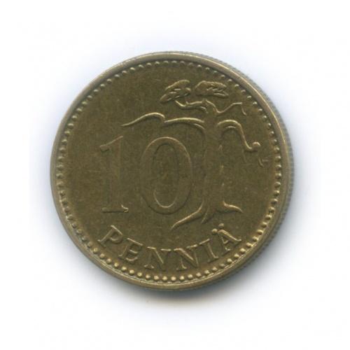 10 пенни 1973 года (Финляндия)