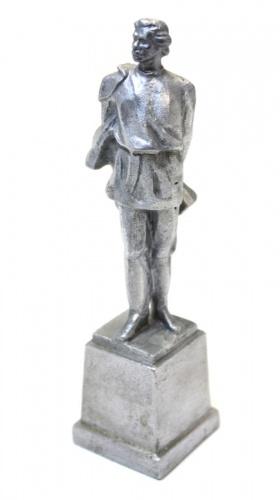 Статуэтка «Максим Горький» (14 см, металл) (СССР)