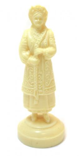 Фигурка шахматная «Королева» (9,5 см) (СССР)