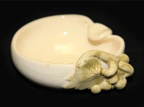 Пепельница карточная «Виноград» (керамика, 2,5×8 см)