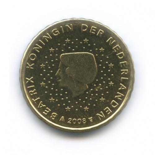 10 центов 2008 года (Нидерланды)