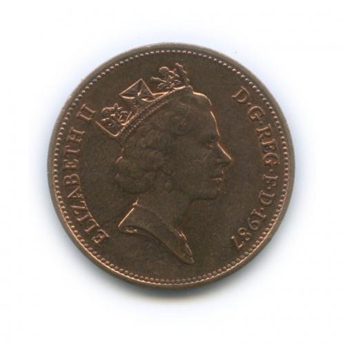 2 пенса 1987 года (Великобритания)