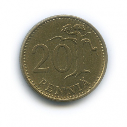 20 пенни 1982 года (Финляндия)