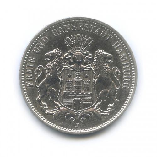 3 марки - Гебр, Гамбург 1909 года