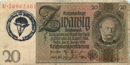 20 рейхсмарок 1924 года (Германия)