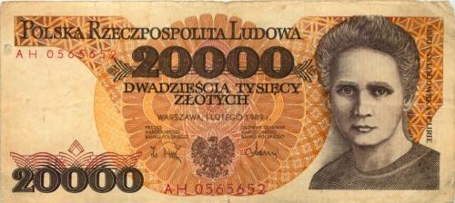20000 злотых 1989 года (Польша)