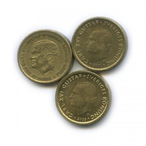 Набор монет 10 крон (Швеция)