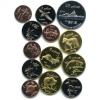 Набор монетовидных жетонов, Курильские острова