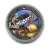 10 франков - Охрана морская жизнь, Конго (серебро 900 пробы, ссертификатом) 2000 года