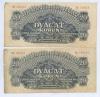Набор банкнот 20 крон 1944 года (Чехословакия)