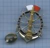Знак «Морские лоцманы» (серебряные элементы) (Россия)