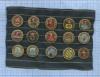 Набор значков «Гербы городов - Золотое кольцо» (СССР)