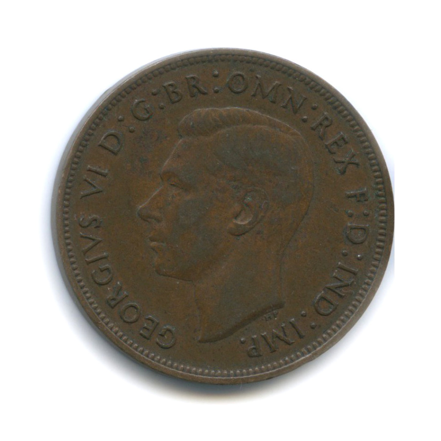1 пенни 1937 года (Великобритания)