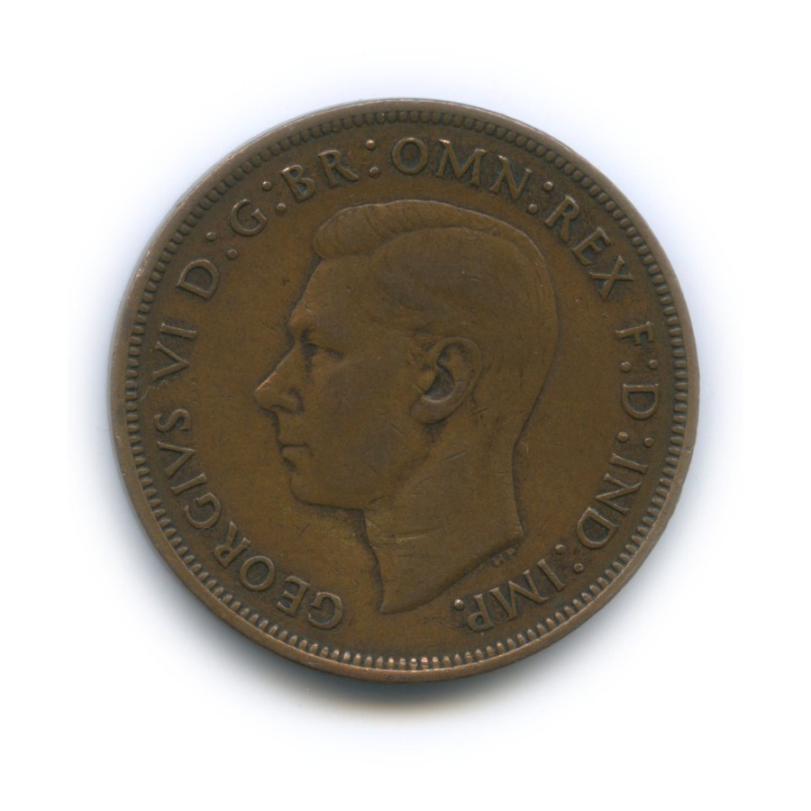 1 пенни 1945 года (Великобритания)