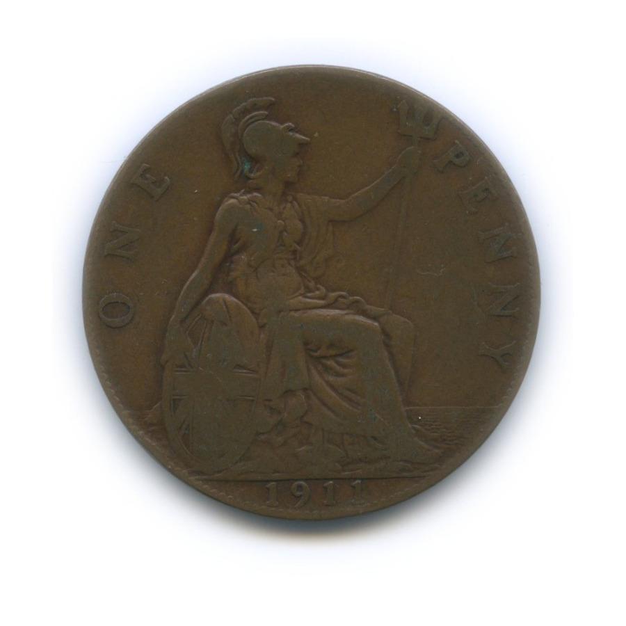 1 пенни 1911 года (Великобритания)