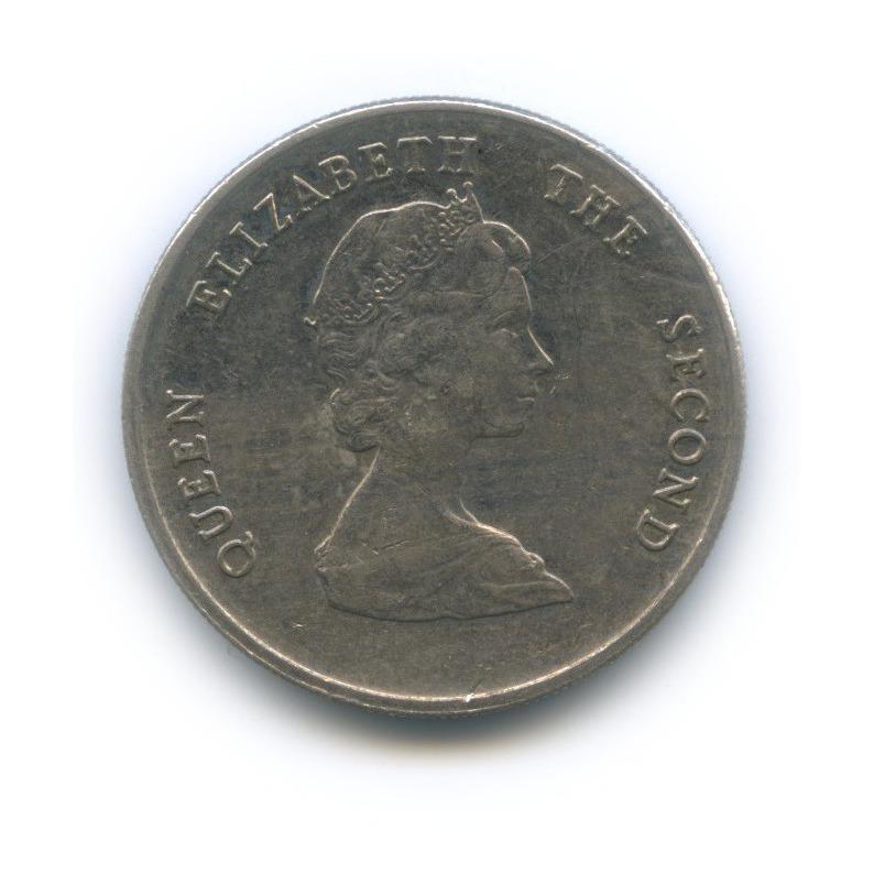 25 центов, Восточные Карибы 1981 года
