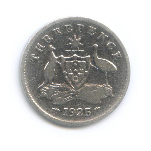 3 пенса 1925 года (Австралия)