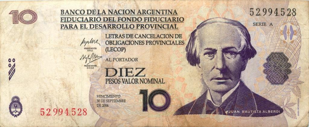 10 песо 2006 года (Аргентина)