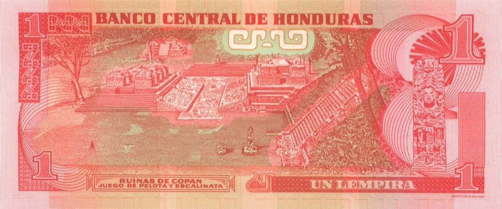 1 лемпира (Гондурас) 2008 года