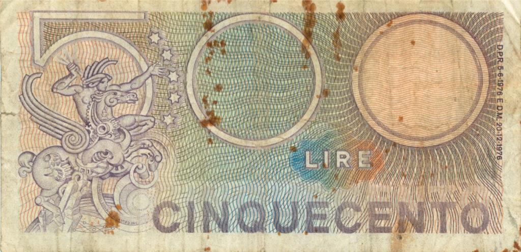 500 лир 1976 года (Италия)