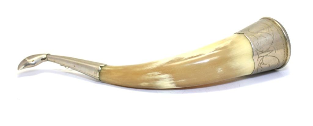 Рог натуральный (25 см) (СССР)