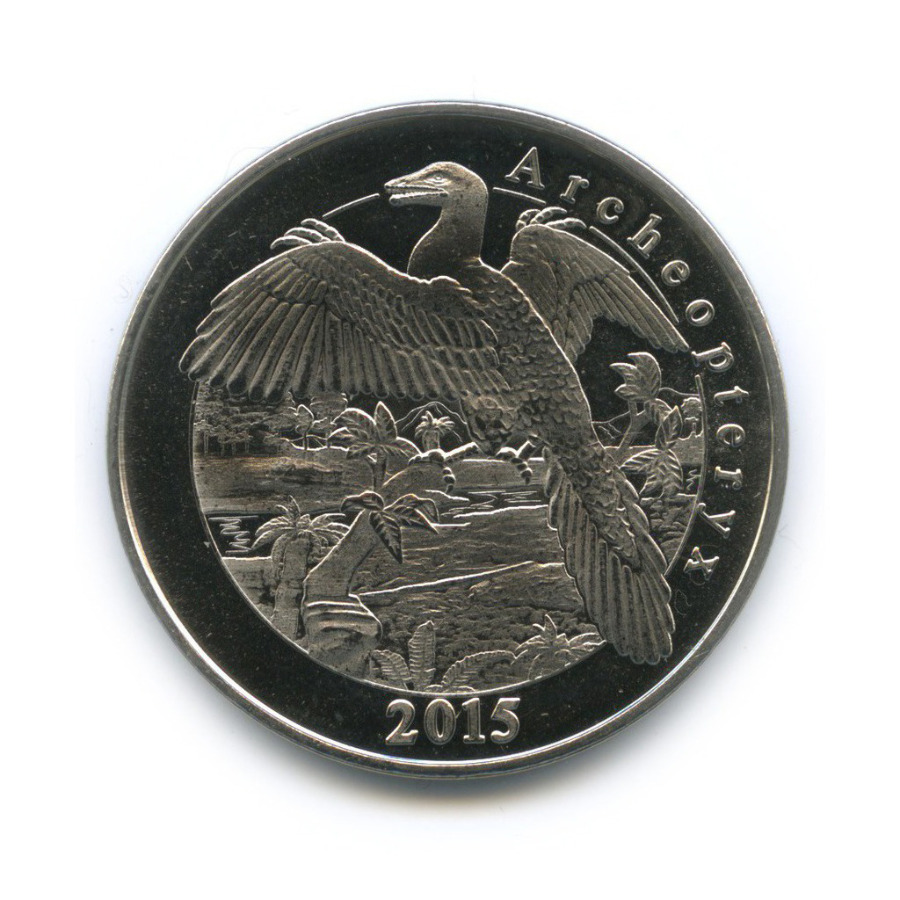 1 франк - Археоптерикс, Майотта 2015 года