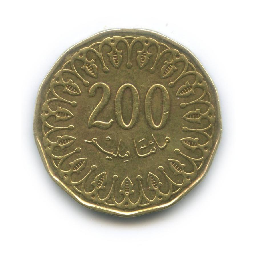200 миллимов 2013 года (Тунис)