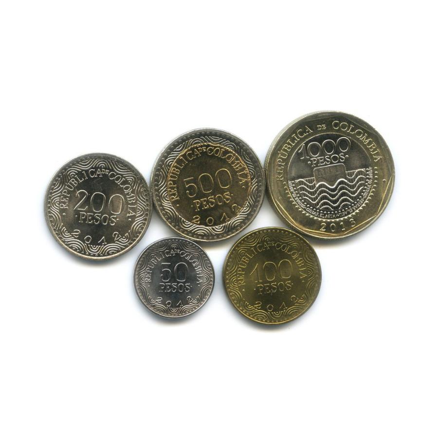 Набор монет - Флора и фауна 2012, 2013 (Колумбия)