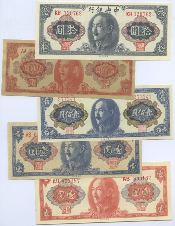 Набор банкнот (Китай)
