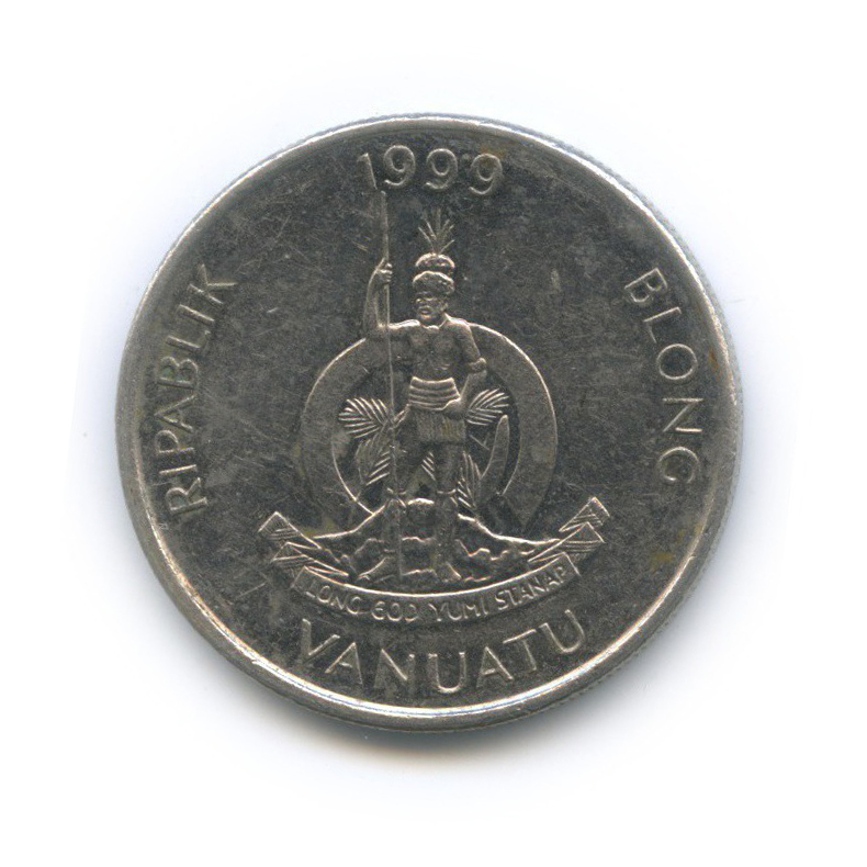 10 вату, Вануату 1999 года