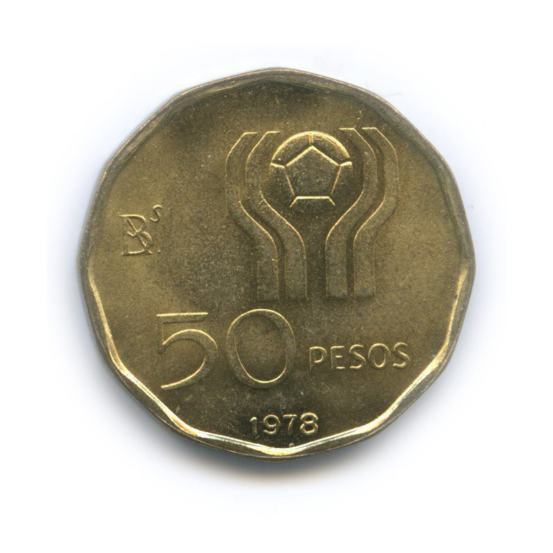 50 песо — Чемпионат мира пофутболу, Аргентина 1978 1978 года (Аргентина)