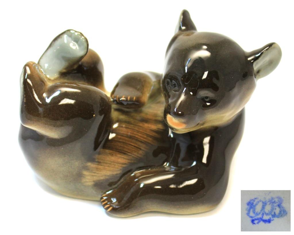 Фигурка ЛФЗ «Медведь» (8,5×12 см)