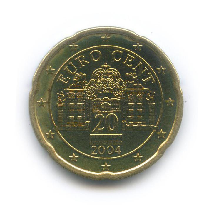 20 центов 2004 года (Австрия)