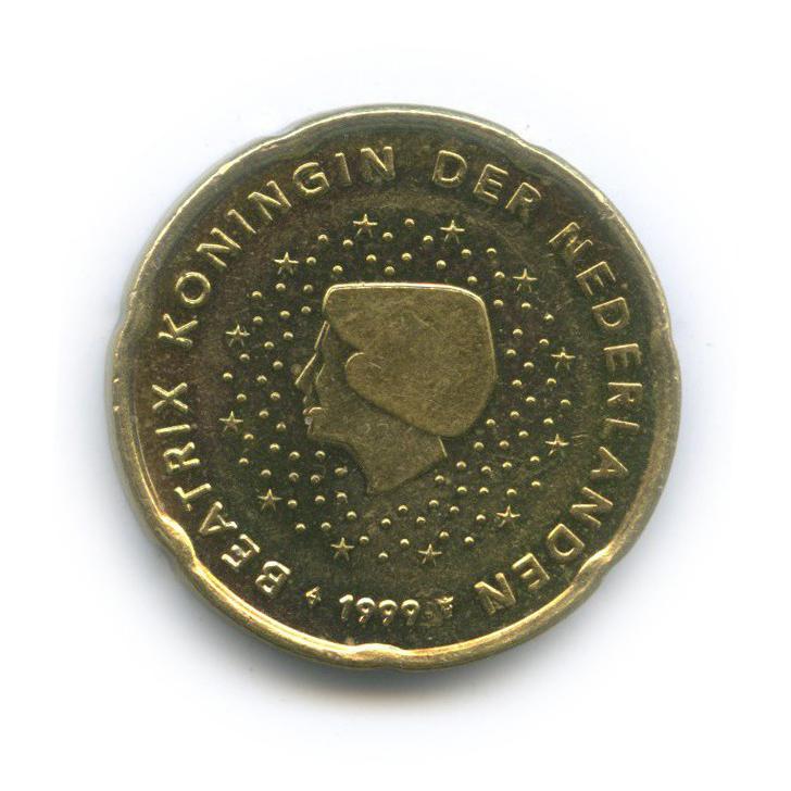20 центов 1999 года (Нидерланды)