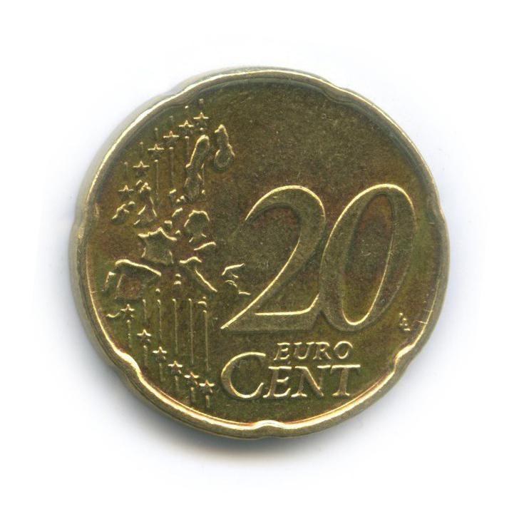 20 центов 2004 года (Бельгия)