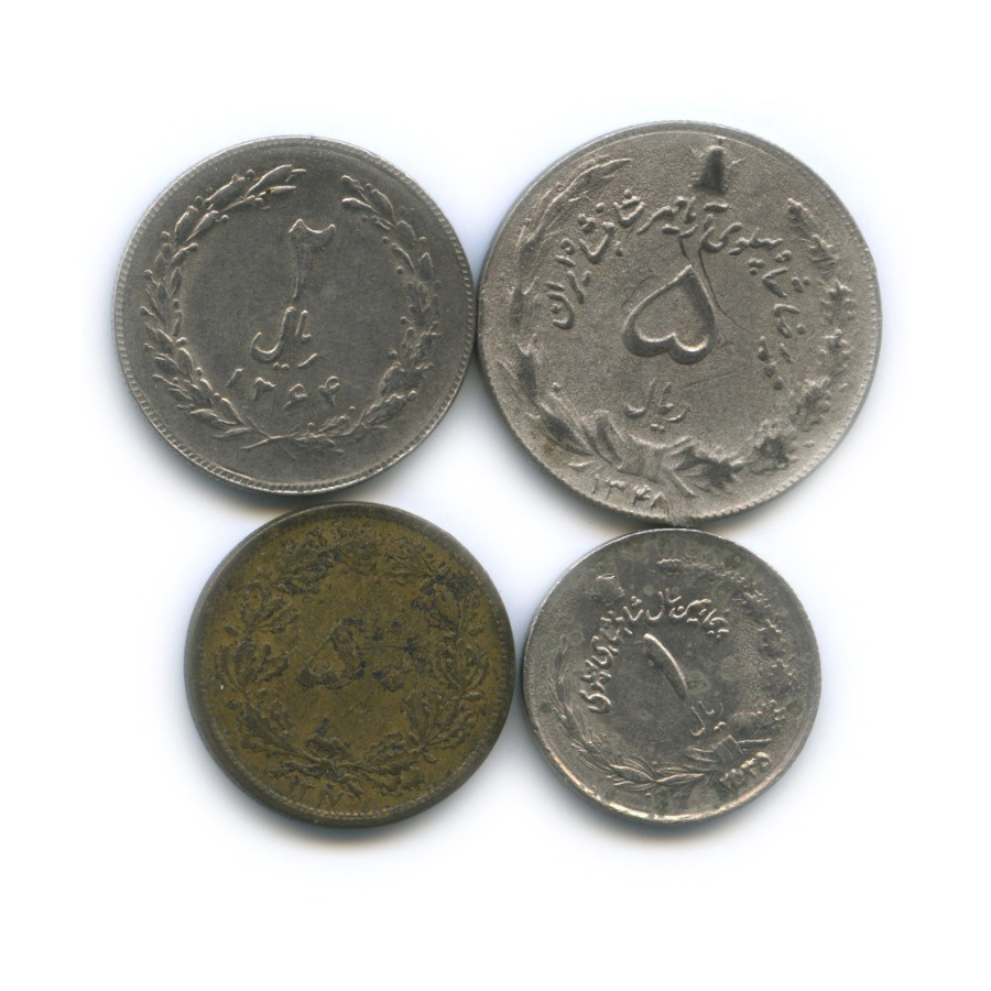 Набор монет (Иран)