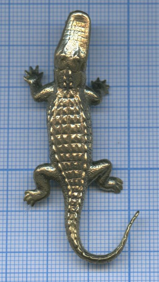 Фигурка «Крокодил» (бронза, 6 см)