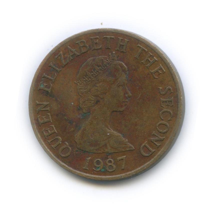 2 пенса, Джерси 1987 года