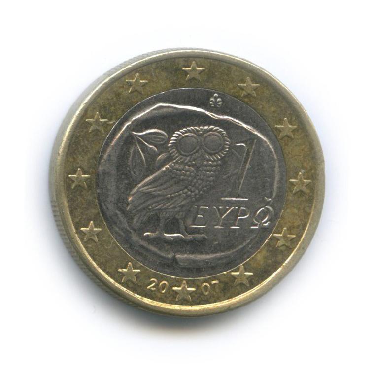 1 евро 2007 года (Греция)