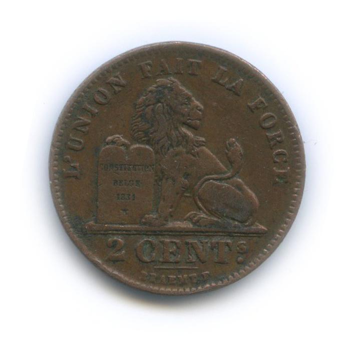 2 сантима 1919 года (Бельгия)